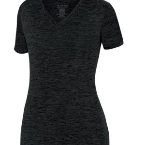 Women's Intensify Black Heather Training T-Shirt Thumbnail