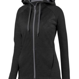 Women's Zoe Tonal Heather Full-Zip Hoodie Thumbnail