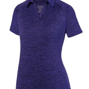 Women's Intensify Black Heather Sport Shirt Thumbnail