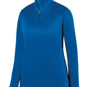 Women's Wicking Fleece Quarter-Zip Pullover Thumbnail