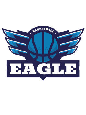 Eagle Basketball Logo Template