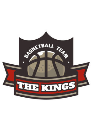 The Kings Basketball team Logo Template