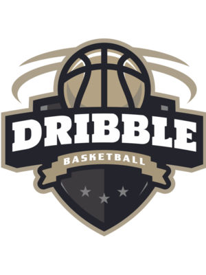 Dribble basketball logo 02