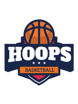 Hoops Basketball logo template 03