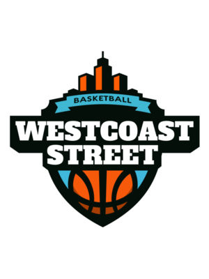 Westcoast Street Basketball League logo template