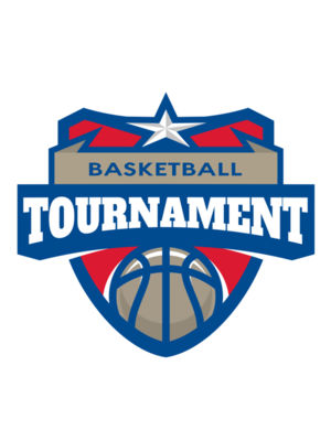Tournament Basketball logo template 02