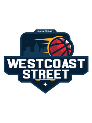 Westcoast Street Basketball logo template