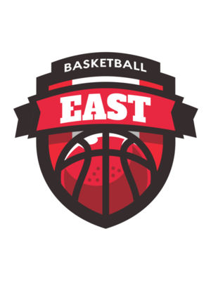 East Basketball logo template