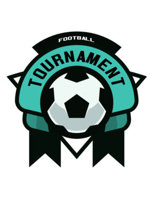 Tournament Football logo template