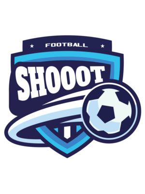 Shoot Football logo template