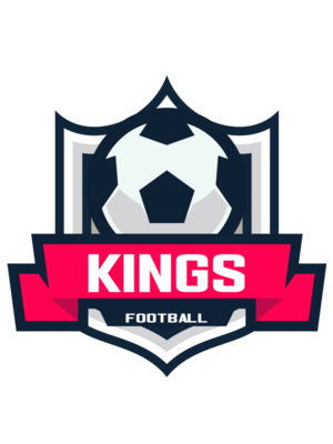 Kings Football logo template