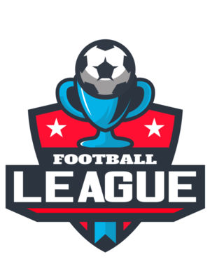 League Football logo template