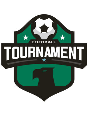 Tournament Football logo template 02