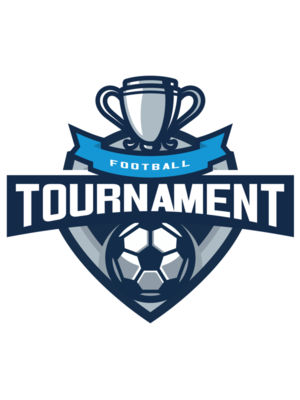 Tournament Football logo template 03