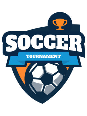 Soccer Tournament league logo template