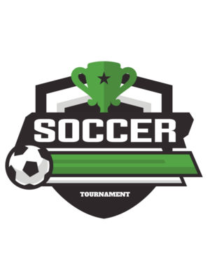 Soccer Tournament logo template 02
