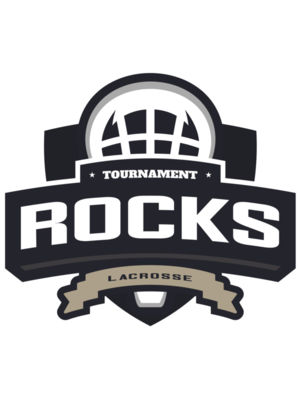 Rocks Tournament Lacrosse Logo Template