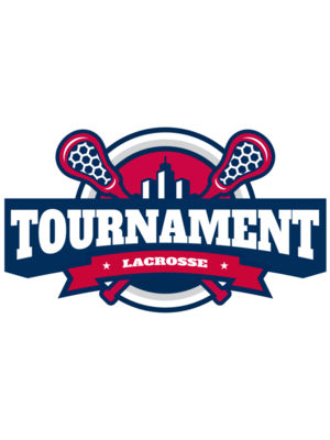 Tournament Lacrosse Logo Template