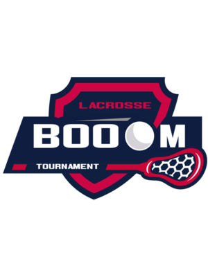 Boom Tournament Lacrosse Logo Template