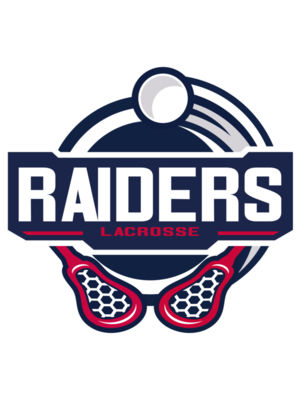 Raiders Lacrosse Logo Template 02