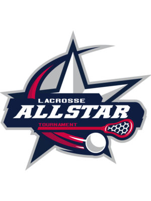 Allstar Tournament Lacrosse Logo Template 02