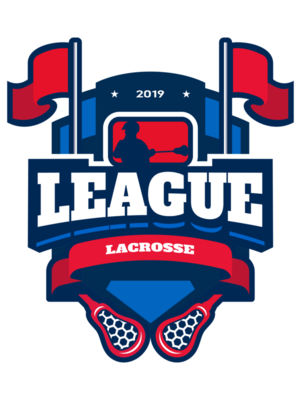 League Lacrosse Logo Template