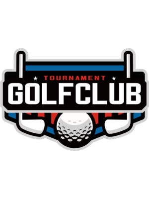 Golf club Tournament logo template