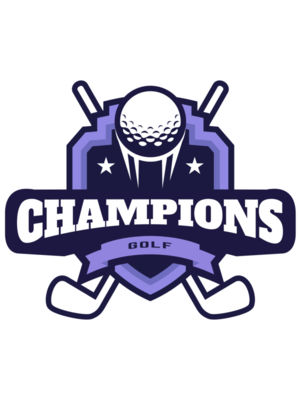 Champions Golf logo template