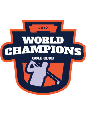 World Champions Golf club logo template