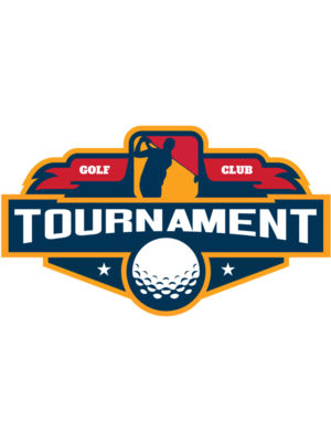 Tournament Golf Club logo template
