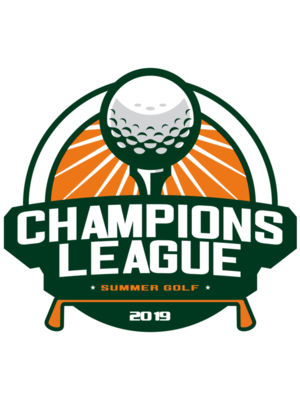 Champions League Summer Golf logo template