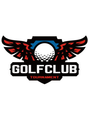 Golf club Tournament logo template 06