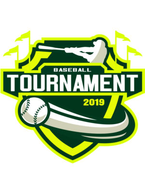 Baseball Tournament logo template