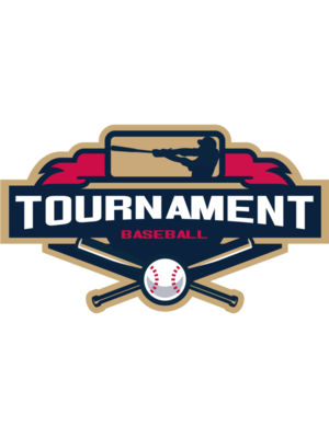 Tournament Baseball logo template