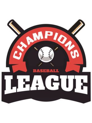 Champions League Baseball logo template