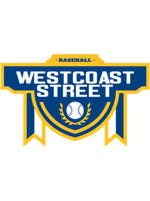 West Coast Street Baseball Tournament logo template 02