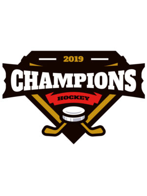 Champions Hockey logo template