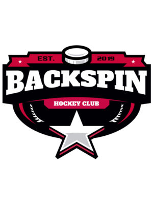 Backspin Hockey Club logo template