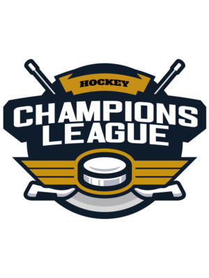 Champions League Hockey logo template