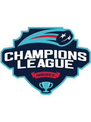 Champions League Hockey logo template 02
