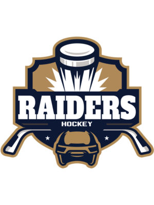 Raiders Hockey logo template