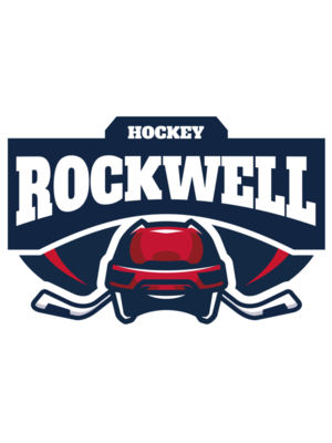 Rockwell Hockey logo template 02