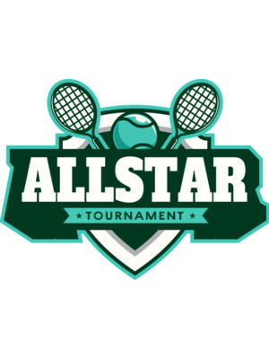 All star Tournament logo template