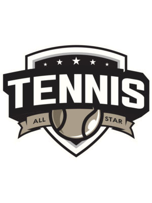Tennis All star logo template