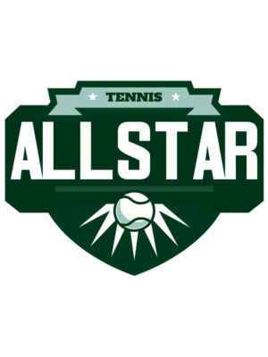 All star Tennis Logo  template