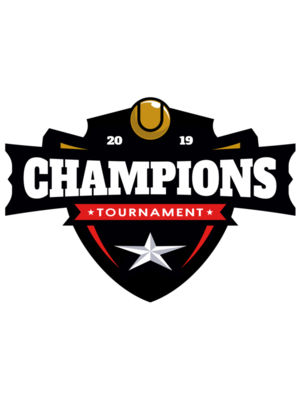 Champions Tournament logo template 02