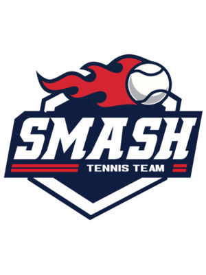 Smash Tennis Team logo template 01