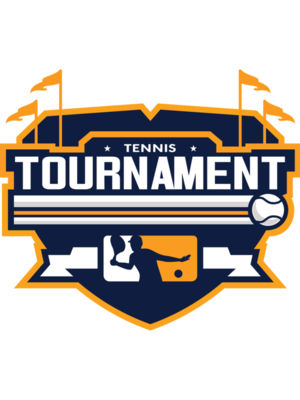 Tournament Tennis logo template