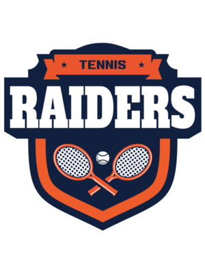Raiders Tennis logo template